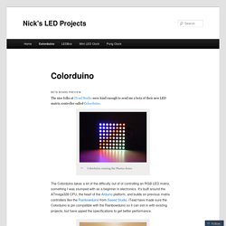 Nick's LED Projects