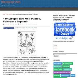 130 Dibujos para Unir Puntos, Colorear e Imprimir