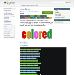 colored 1.3.4