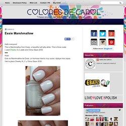 Colores de Carol: Essie Marshmallow