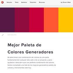 Mejor Paleta de Colores Generadores — Códigos de Colores HTML
