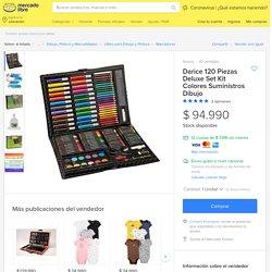 Darice 120 Piezas Deluxe Set Kit Colores Suministros Dibujo - $ 94.990 en Mercado Libre