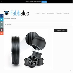 colorFabb Announces Carbon Fiber Filament