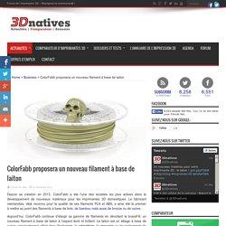 ColorFabb proposera un nouveau filament à base de laiton - 3Dnatives
