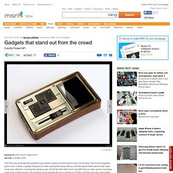 Colorfly Pocket HiFi - Gadgets that stand out from the crowd - Features | MSN Tech & Gadgets | MSN UK
