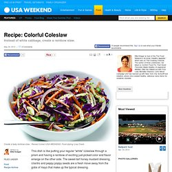 Recipe: Colorful Coleslaw