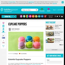 Tiny Cupcakes - Cupcake Poppers