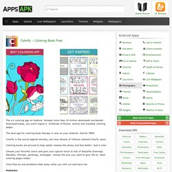 Colorfy - Coloring Book Free for Android - APK