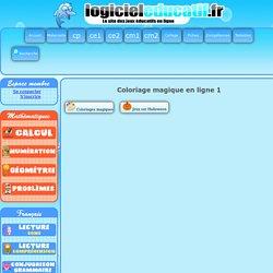 Coloriage magique en ligne 1