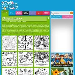 Coloriage MANDALA : Coloriage en ligne GRATUIT - Coloriage à imprimer - 233 coloriages en ligne