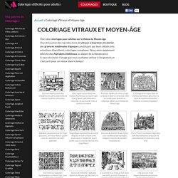 coloriage-motifs-medievaux_jpg dans Coloriage Vitraux et Moyen-âge