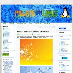 Fondos coloridos para tu GNU/Linux