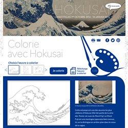 Colorie avec Hokusai - RMN Dessin