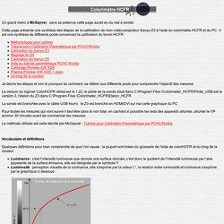 Colorimètre HCFR