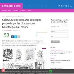 ColorOurCollections. Des coloriages proposés par les plus grandes bibliothèques au monde – Les Outils Tice