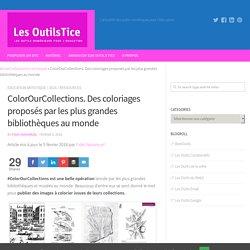 ColorOurCollections. Des coloriages proposés par les plus grandes bibliothèques au monde