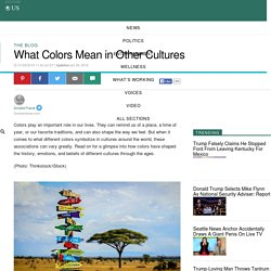 What Colors Mean in Other Cultures