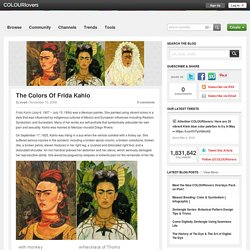 The Colors Of Frida Kahlo by COLOURlovers