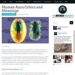 Human Aura Colors and Meanings