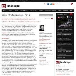 lour Film Comparison - Part 2
