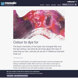 Colour to dye for