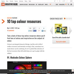 10 top colour resources