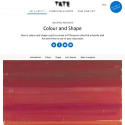 Colour and Shape – Teaching Resource