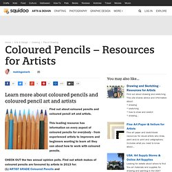 Coloured Pencils - Resources for Artists