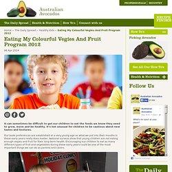 Eating My Colourful Vegies And Fruit Program 2012