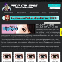 ColourVUE Big Eyes Colour Contact Lenses