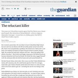Dave Cullen on the Columbine killer Dylan Klebold