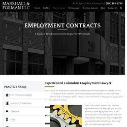 Employment Law Attorneys Columbus