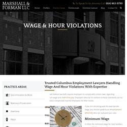 Columbus Wage And Hour lawyers