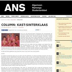 Column: Kast-Sinterklaas