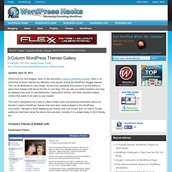 Best 3-Column WordPress Themes