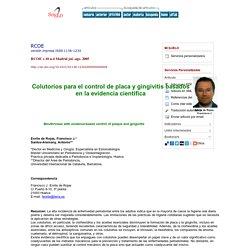 Colutorios para el control de placa y gingivitis basados en la evidencia científica