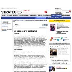 Com interne: le papier reste à la page - page 2