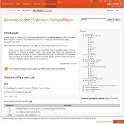 AmministrazioneSistema/ComandiBase