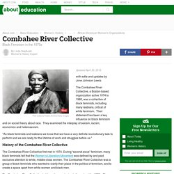 The Combahee River Collective: Black Women's Liberation