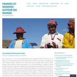 Femmes et hommes autour du monde