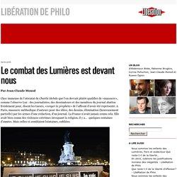 Le combat des Lumières est devant nous - LibéRation de Philo
