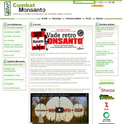 Les crimes contre l'humanité de Monsanto