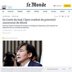 En Corée du Sud, l'âpre combat du potentiel successeur de Moon