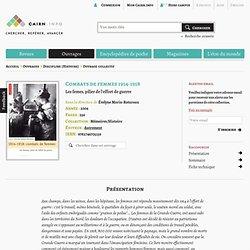 Combats de femmes 1914-1918, par Évelyne Morin-Rotureau