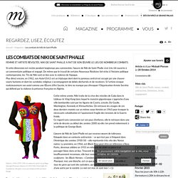 RMN - Grand Palais Les combats de Niki de Saint Phalle