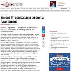 Simone Iff, combattante du droit à l'avortement
