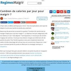 Régime - Maigrir | Pearltrees
