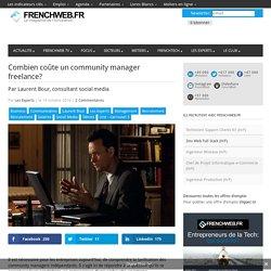 Combien coûte un community manager freelance?