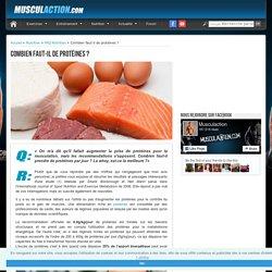Combien faut-il de protéines ?