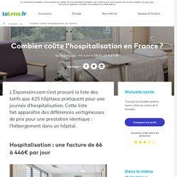 Combien coûte l'hospitalisation en France ?